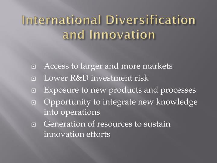 International Diversification