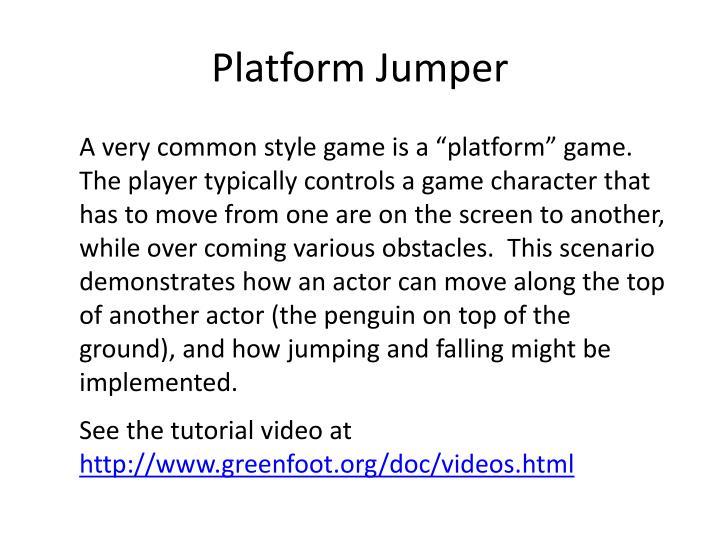 Platform Jumper