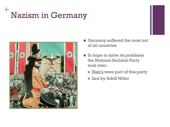 Nazism in Germany