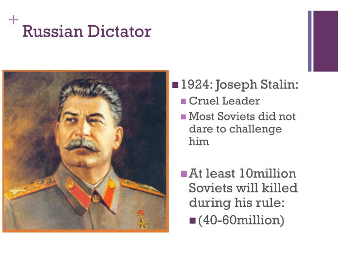 Russian Dictator