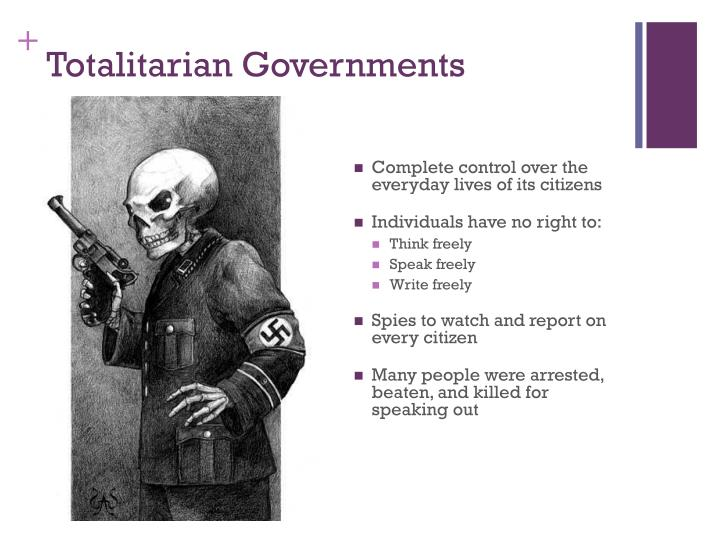 Totalitarian Governments