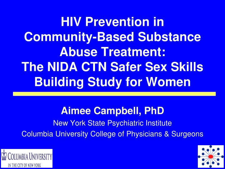 HIV Prevention in