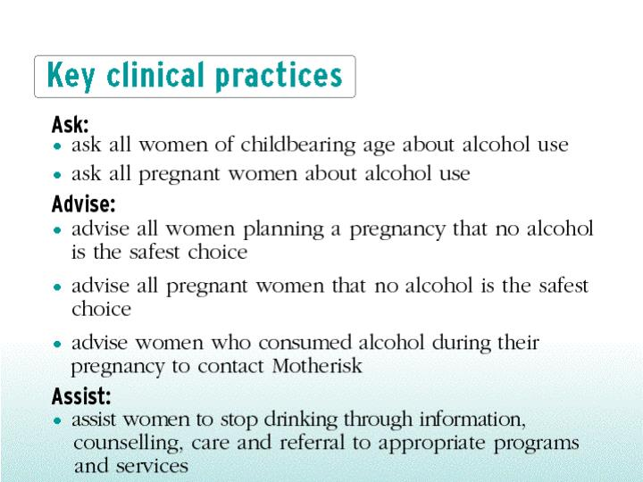 Key clinical practices