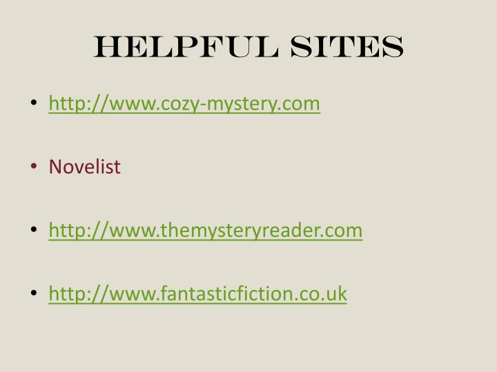 Helpful sites