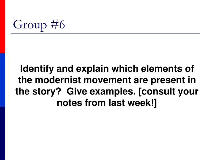 Group #6