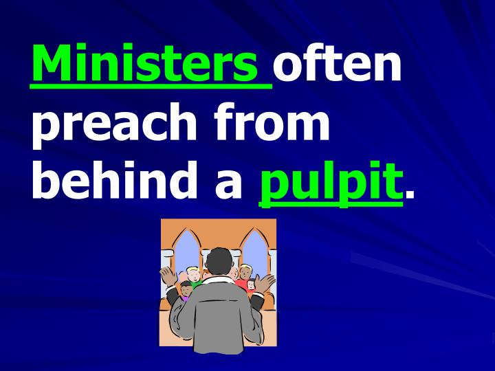 Ministers