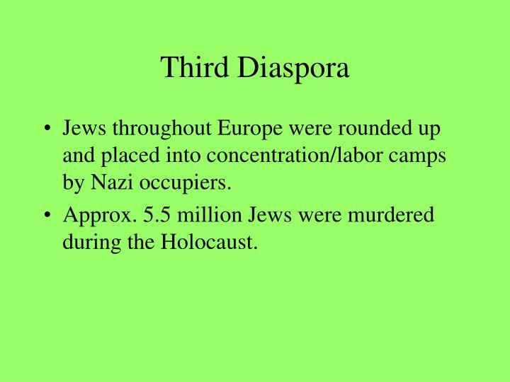 Third Diaspora