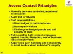 access control principles