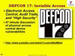 defcon 17 invisible access