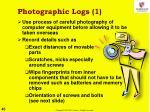 photographic logs 1