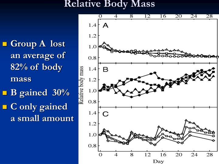 Relative Body Mass