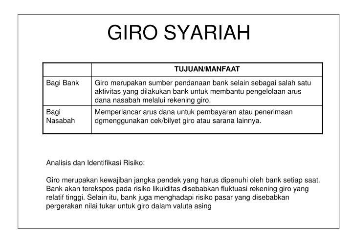 GIRO SYARIAH