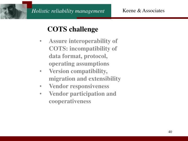 COTS challenge