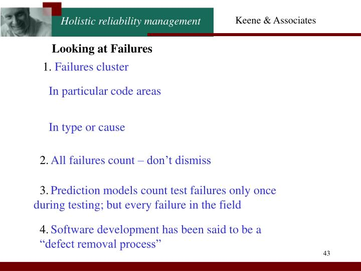 Looking at Failures