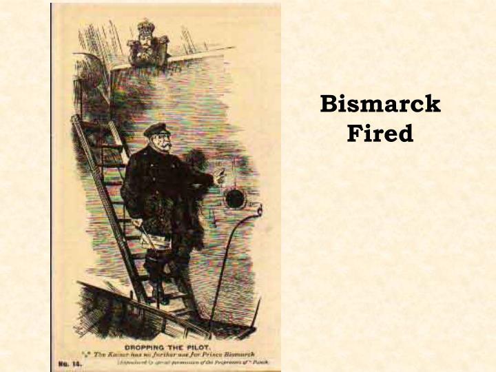 Bismarck Fired