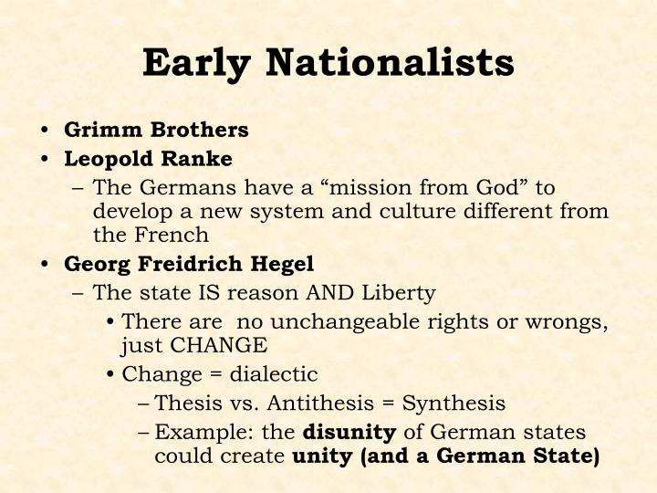 Early Nationalists