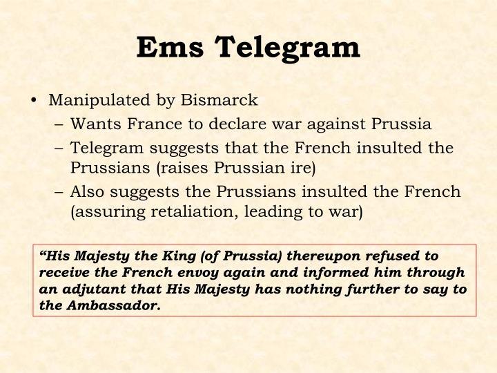 Ems Telegram