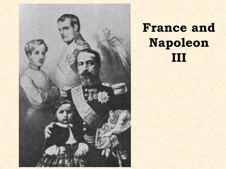 France and Napoleon III