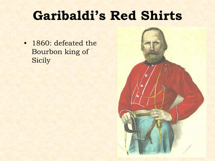 Garibaldi's Red Shirts