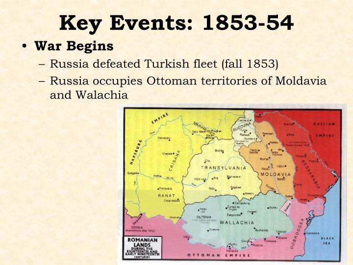 Key Events: 1853-54