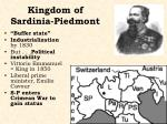 kingdom of sardinia piedmont