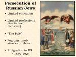 persecution of russian jews