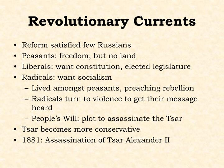 Revolutionary Currents