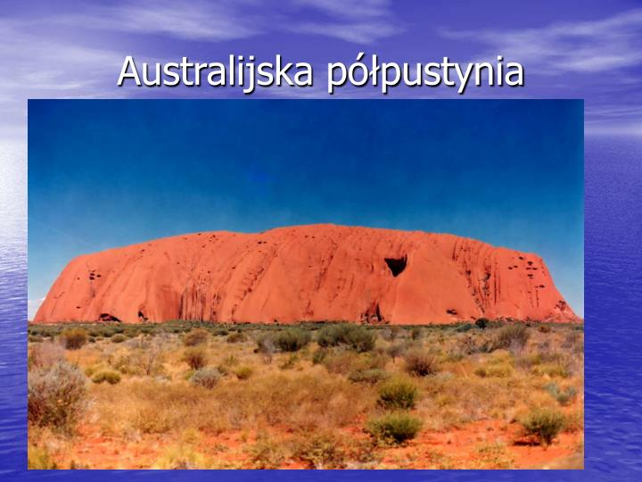 Australijska półpustynia