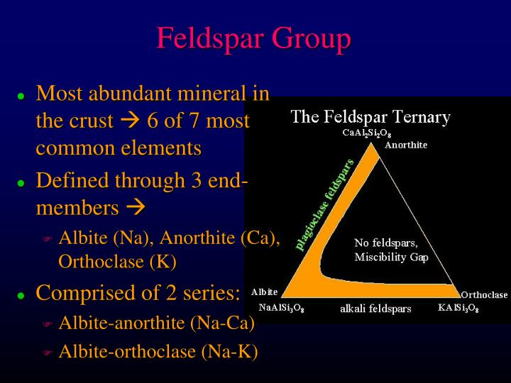 Feldspar group