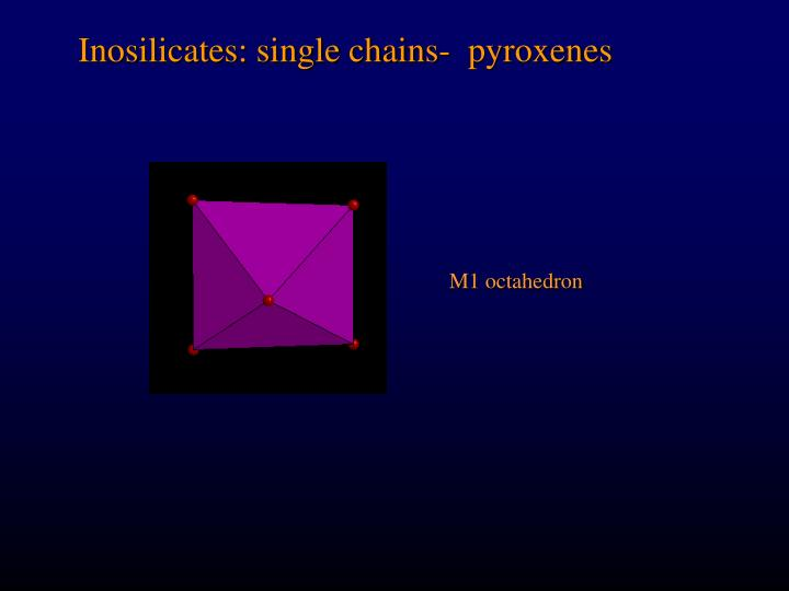 M1 octahedron
