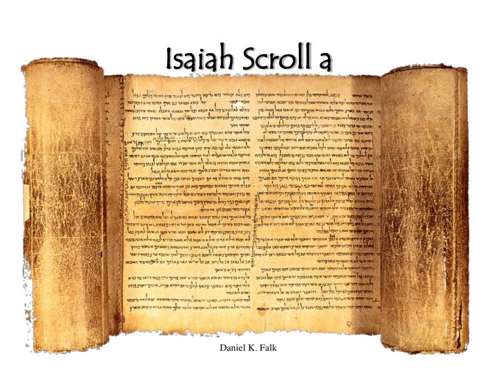 Isaiah Scroll a