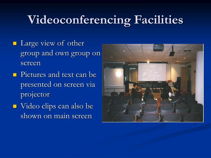 Videoconferencing Facilities