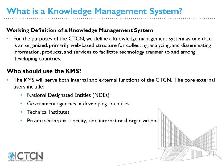 What is a Knowledge Management System?