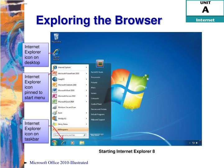 Exploring the Browser