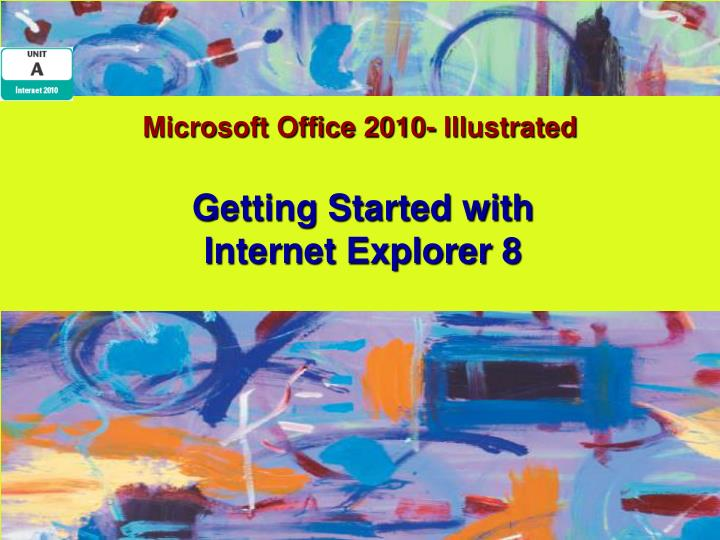 Microsoft office 2010 illustrated