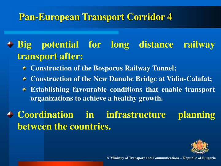Pan-European Transport Corridor 4