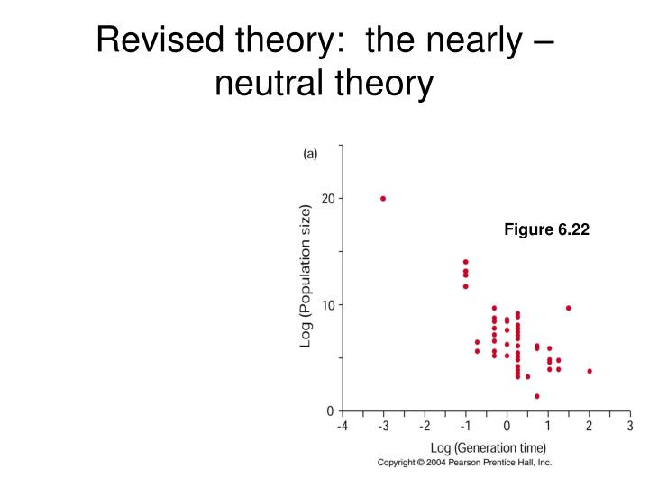 Revised theory:  the nearly – neutral theory