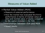 measures of value added1