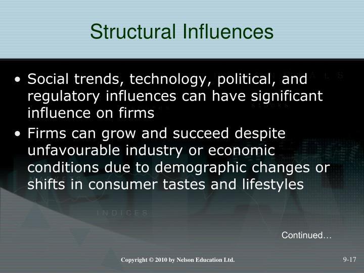 Structural Influences