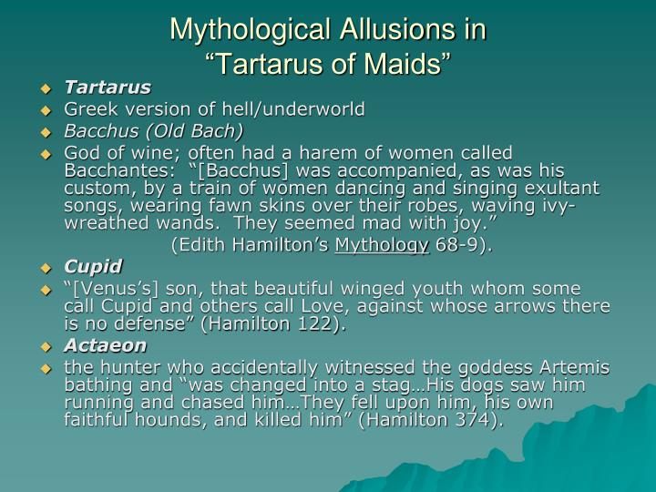 Mythological Allusions in