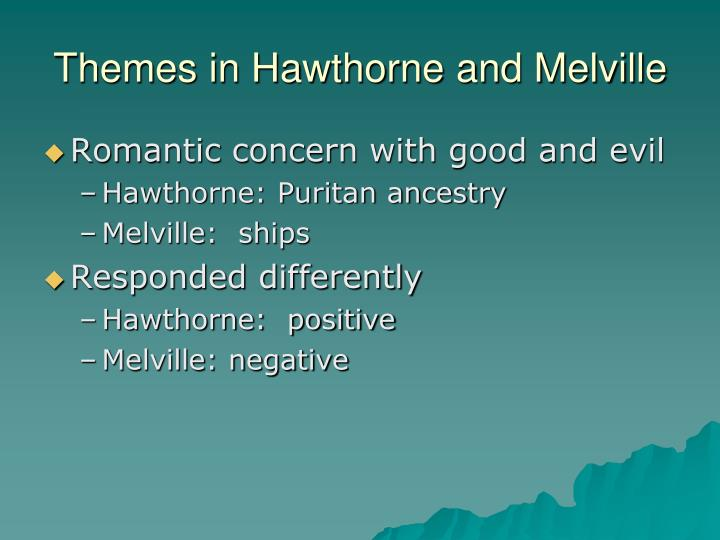 Themes in Hawthorne and Melville