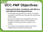 ucc pmp objectives