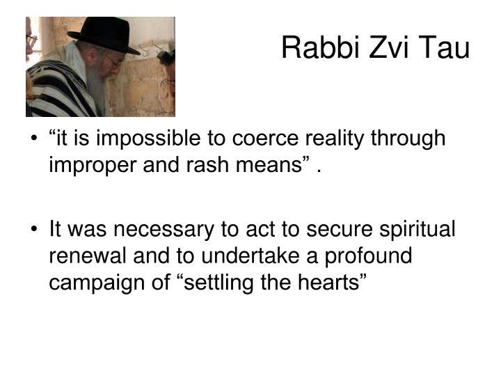 Rabbi Zvi Tau