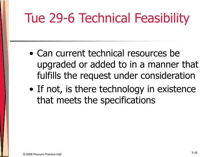 Tue 29-6 Technical Feasibility