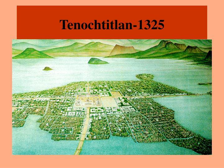 Tenochtitlan-1325