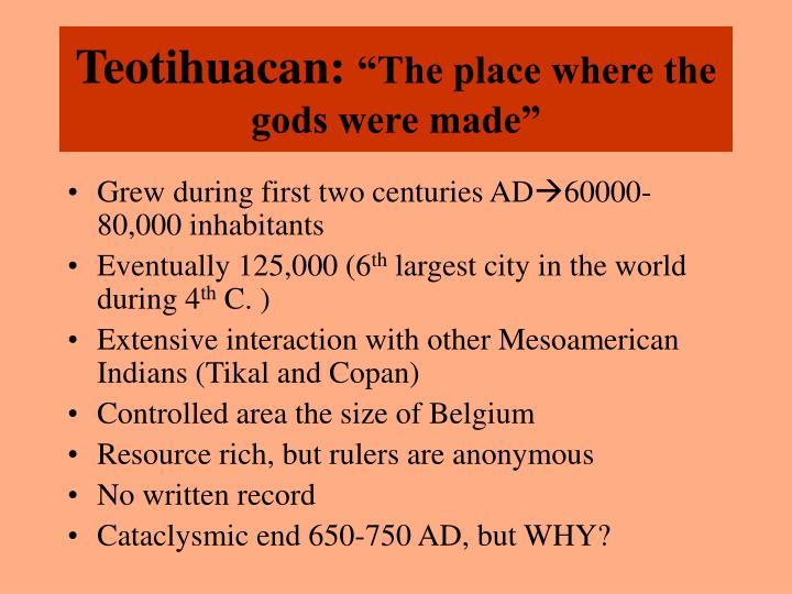 Teotihuacan: