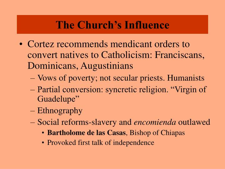 The Church's Influence