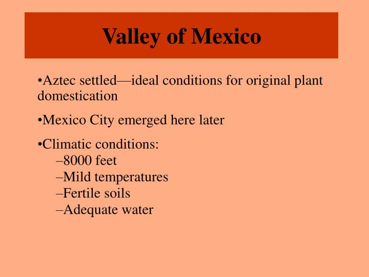 Valley of Mexico