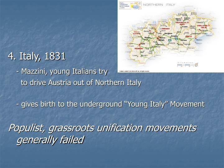 4. Italy, 1831