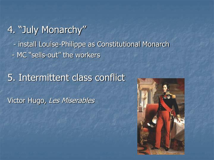 "4. ""July Monarchy"""